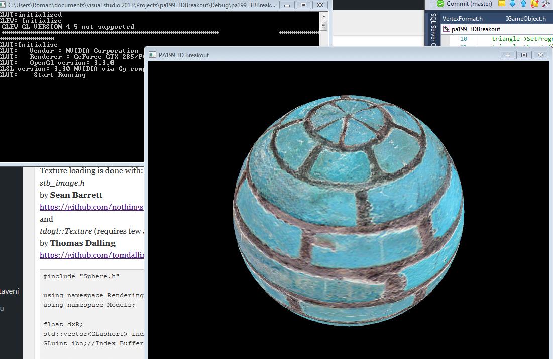 Sphere in OpenGL