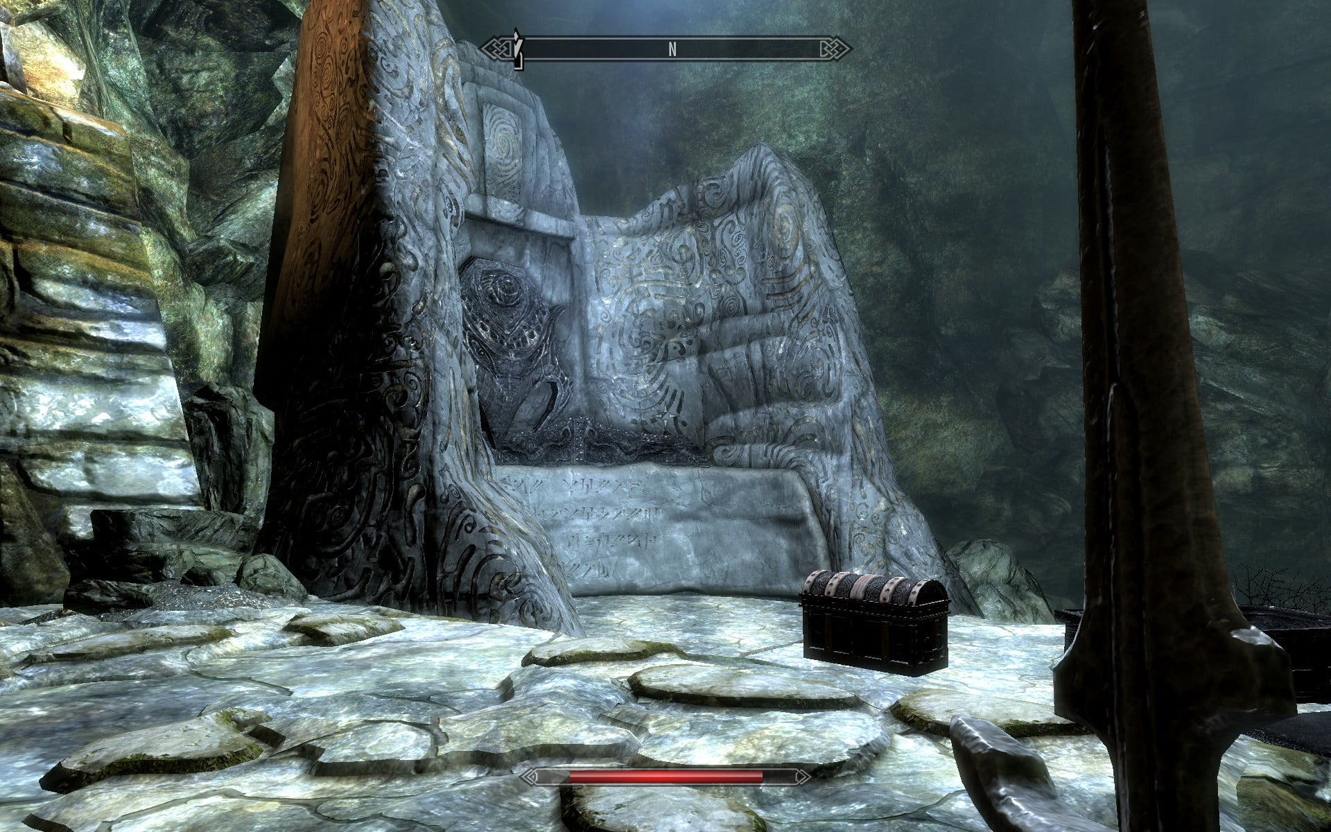 Level design – solution to backtracking in Skyrim