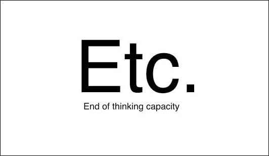 """What does """"etc."""" really stand for"""
